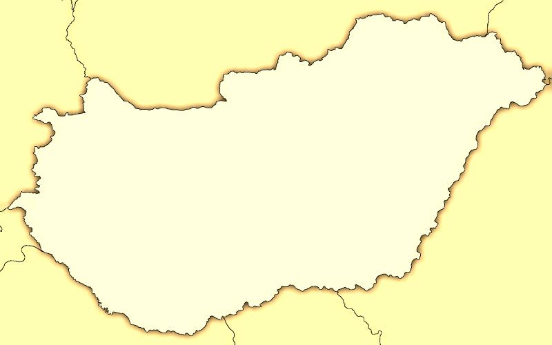 magyarország térkép körvonal Magyarország vaktérkép magyarország térkép körvonal